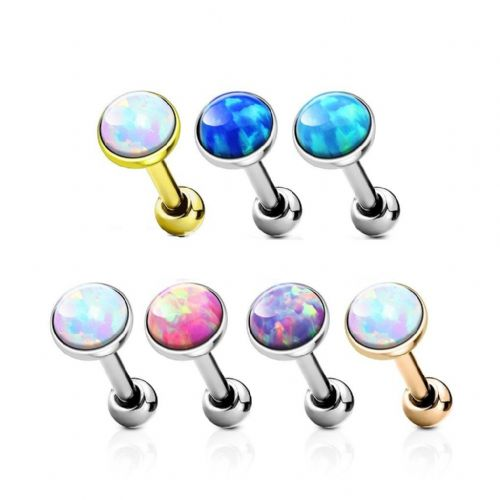 Opal Gem Cartilage Bar